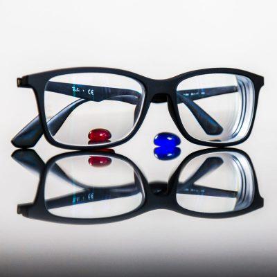 Martin Schwarz Brille mit Steinen