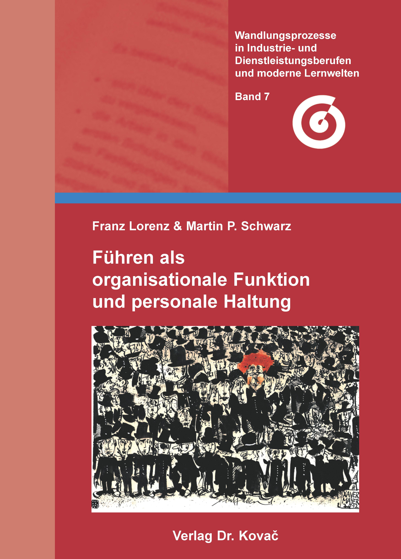 Cover Führen als organisationale Funktion